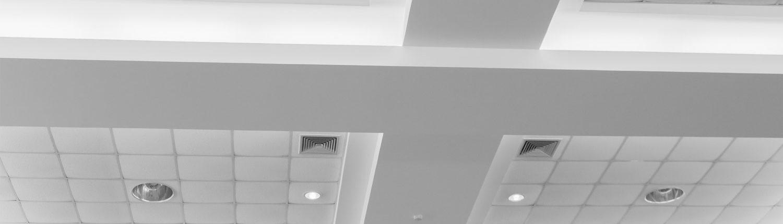rénovation de faux plafonds